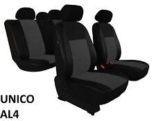 HONDA ACCORD Mk8 SALOON 2007-2016 ECO LEATHER & ALICANTE TAILORED SEAT COVERS