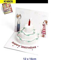 Handmade 3D  Pop Up Card Paper Greeting Birthday Card