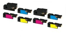 8 Pack Compatible Color Toner Cartridges for Dell 1250c 1350cnw 1355cn 1355cnw