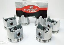 1996-2009 Ford Mercury Lincoln 3.0L V6 Duratec - (6) DOME PISTONS & STEEL RINGS