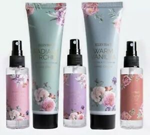 Ellen Tracy 5 Piece Bath and Body Gift Set with Hand Creams and Body Mists