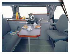 Guía de Mesa 95 cms Acero Inoxidable Plástico Recortable Camper Autocaravana