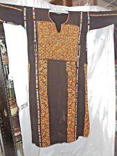 Authentic Vintage Ethnic Palestinian  Dress Kaftan