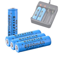 4x Genuine GTL 18650 Rechargeable Battery 6800mAh 3.7V Li-ion Batteries RC1057