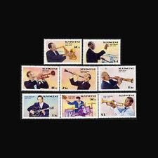 ST VINCENT, Sc #1142-49, MNH,1989, Entertainers, Jazz & Big Band Era, A250FDDDcx