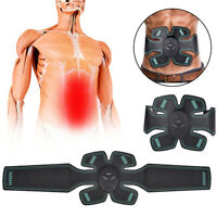 2019 Hot EMS Trainer Abdominal Toning Muscle Toner Gym Abs Smart Fitness Belt~