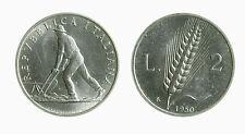 pci3646) Italia Repubblica in Italma - 2 lire 1950 Spiga