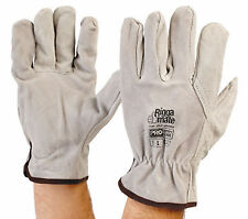 Leather Safety Gloves & Pads