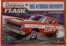 Moebius 1222 - California Flash '65 Plymouth Belvedere 1/25 Scale Model Kit