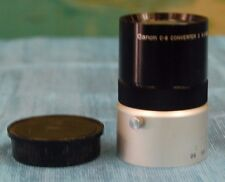 GREAT WORKING ORDER - CANON C-8 CONVERTER 2  6.5-26MM F/1.7 LENS WITH LENS CAP