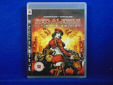 ps3 COMMAND & AND CONQUER Red Alert 3 Ultimate Edition PAL UK REGION FREE