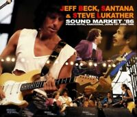 Jeff Beck & Santana Steve Lukather Sound Market '86 CD 3 Discs 32 Tracks Music
