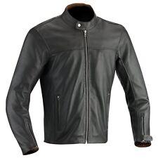 Giacche zip completi per motociclista pelle marrone