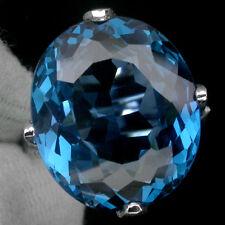 LDN_Bague Topaze Bleu Suisse Apatite bleu _Argent 925_T53__