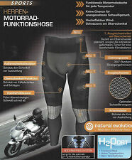 Herren Motorrad Funktionshose Crivit Sports Hose Sport fahren Fitness Shorts NEU