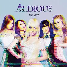 ALDIOUS - WE ARE   CD NEW+