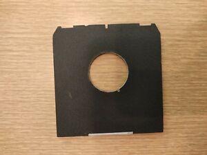 Linhof Technika Planchette Porte Objectif N°0   Linhof Lens Board 4x5
