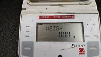 Ohaus Explorer E06120 Balance Scale w/ Power Adapter Cap. 610 g x 0.01 g 13340