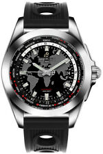 WB3510U4/BD94-200S | BRAND NEW BREITLING GALACTIC UNITIME WORLD TIME MENS WATCH
