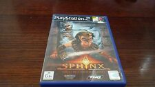 Sphinx and the Cursed Mummy (Sony Playstation 2, PS2) Complete Platformer VGC