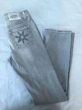 Cambio Jeans women grey washed denim - Size 4 US