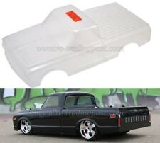Clear Body 1/10 1972 Chevy C10 V2 For Vaterra V100-S RC Touring Cars