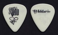 Diamond Rio Jimmy Olander Signature White Guitar Pick - 1990s Tours