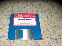 "Animated Memory PC Program on 3.5"" disk - Tested"