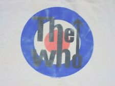 The Who Distressed Yellowed Medium White Ringer T Shirt Quadrophenia