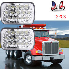 """For Kenworth T300 1997-2010 7x6"""" inch LED Headlights High/Low Beam + DRL"""