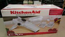 New KitchenAid White Mandoline Slicer Set