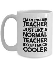 English teacher gift, cool English Teacher coffee mug