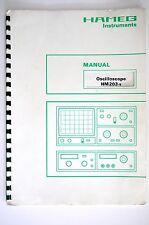 HAMEG Instruments portatif HM203-5 Manuel de service/manuelle/Amplificateur
