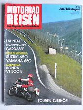 Magazin Tourenfahrer von Nitschkes Motorrad Reisen, 2.1983 - Tests und Reisen