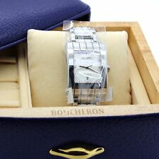 New Boucheron Reflet Parallel Men's watch in Stainless Steel, Large