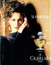 Publicité Advertising  0817  1994  Guerlain parfum femme  Shalimar *