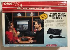 Omnitrac MS2000 Video Audio Mixing System by Arkon 5 Channel Mixer In Box