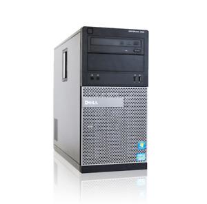 Dell Optiplex 390 Intel i3 2nd Gen 8GB 1TB 4GB GTX 1050ti Gaming PC Windows 10