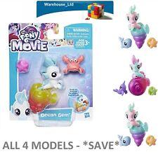 My Little Pony The Movie Baby Seapony All 4 Models xmas Stocking Filler Girls