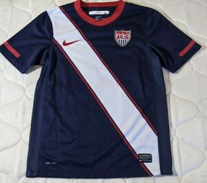 """USA🇺🇸 soccer """"hard to find""""jersey Authentic blue away 2010 Youth M"""
