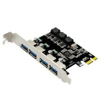 1X(4 Scheda di Espansione Pci Express Port Usb 3.0 Pcie Pci-E Controller Ho W2L6