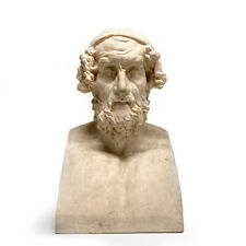 19th Century Manifattura di Signa Terracotta Bust of the Homer Caetani