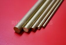 "Brass Metal Rod Round Bar CZ121 - ⅛"" 4mm 5mm 6mm 8mm 10mm 12mm - FREE Delivery!"