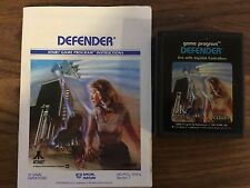 Defender Atari 2600 Tested! Manual Included!