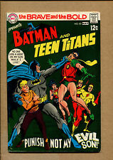 Batman And Teen Titans #83 - Pubusish Not My Evil Son - 1969 (Grade 7.0) Wh