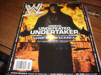 WWE Magazine April 2007 Undertaker  25EL