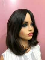 Malky Wig Sheitel European Multidirectional Human Hair Wig Dark Brown Highli 2/7