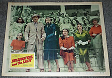 BULLFIGHTER AND THE LADY orig 1951 lobby card poster KATY JURADO/VIRGINIA GREY