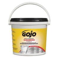 """GOJO 6398-02 Wet Towels, 10-1/2"""" x 12-1/4"""", Citrus, Gray, 170 Count Bucket"""