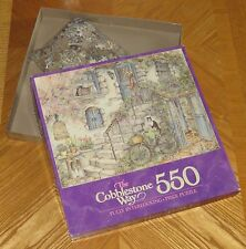 Morning Visitor - Kim Jacobs Art - Cobblestone Way - vtg 1989 MB 550 Puzzle